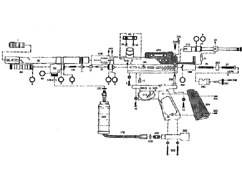 kingman spyder tl gun diagram