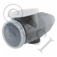 Turbo T-3 Offset Hopper 300 With Window [Cyclone Feeds]