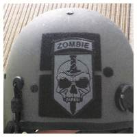 71st Zombie Regiment Patch