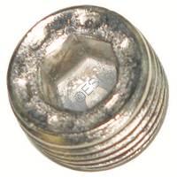 1/8th Inch NPT Plug - Silver