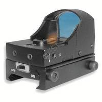 Compact Tactical Red Dot Reflex Sight with Weaver Mount