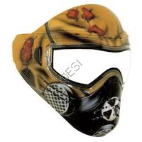 Tagged Series Hand Painted 'Mutant' Tactical Paintball Goggles