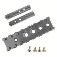 3 Inch Picatinny Rail with 1 Inch Offset - Mounts to 3/8 Rail