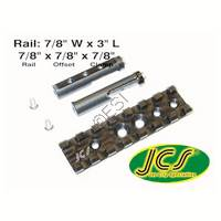 Accessory Rail - 3 Inches Long - 7/8 Offset