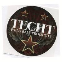 'TechT' Circle Sticker