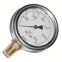 Liquid Filled Gauge - 600psi
