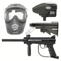 BT-4 Combat Mega Pack Paintball Gun Kit
