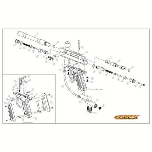 Br Eagle Afterburner Gun Diagram on