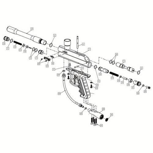 Brass Eagle Diagram Schematics Wiring Diagrams