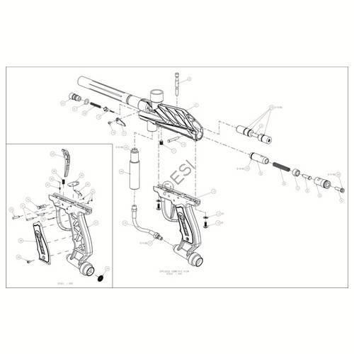 brass eagle striker gun diagram