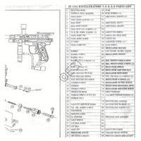JT USA Excellerator 6.0 Gun Diagram