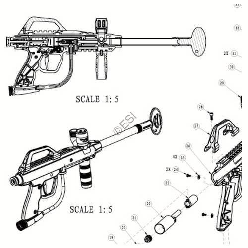 Jt Usa Tac 5m Recon Gun Camo Diagram