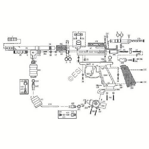kingman spyder java edition shutter gun diagram