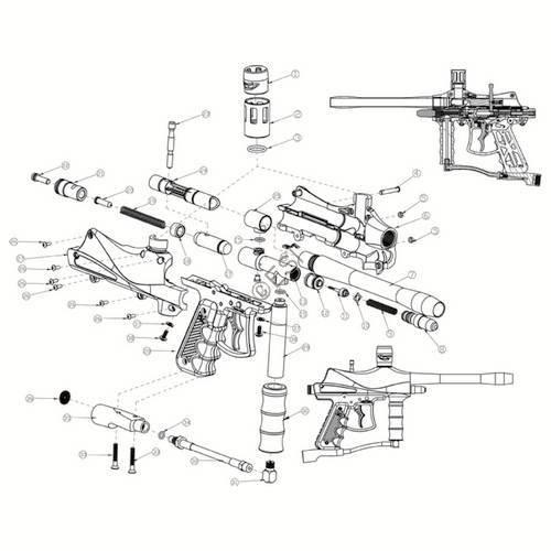 Eagle Paintball Gun