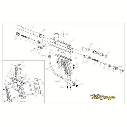 viewloader triad gun diagram rh jtpaintballparts com
