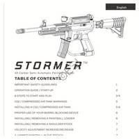 Kingman Spyder Stormer Gun Manual
