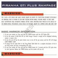PMI Piranha GTI Plus Rampage Gun Manual